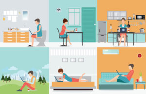 Work at Home - Enlightened Project Management